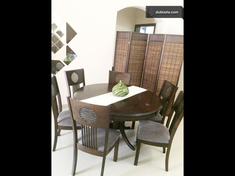 6 Chairs Dining Table Olx Dubizzle Oman