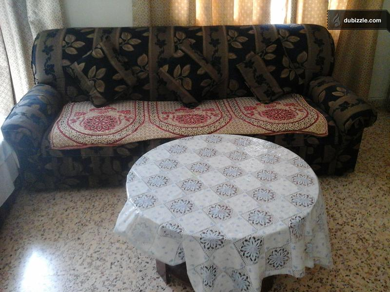 Sofa Set 3 Seater 2 Seater Tea Table Complete Set Olx Dubizzle Oman