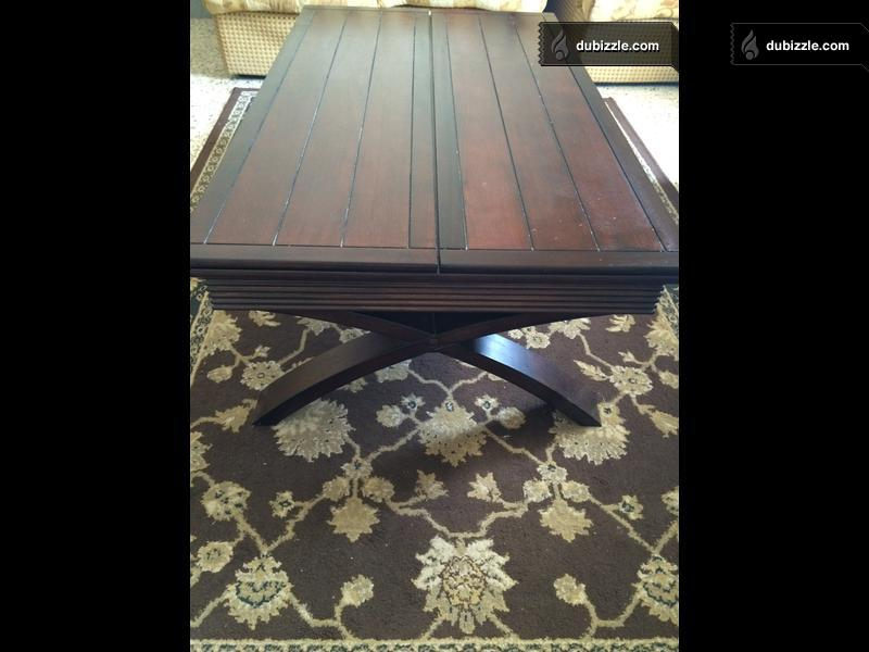 Beautiful Expandable Centre Table For Sale With Perfect Condition Olx Dubizzle Oman