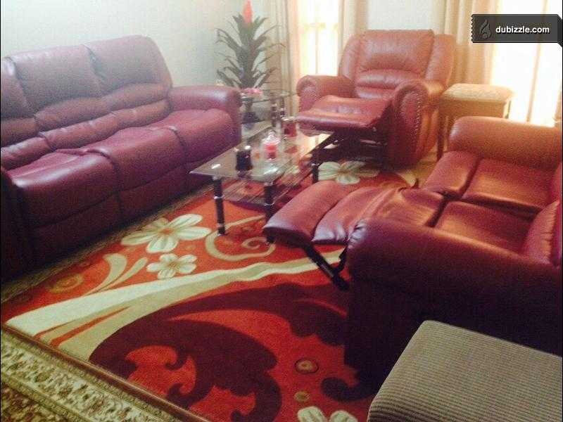 Almost Like A New 6seater Reclinar Sofa Olx Dubizzle Oman