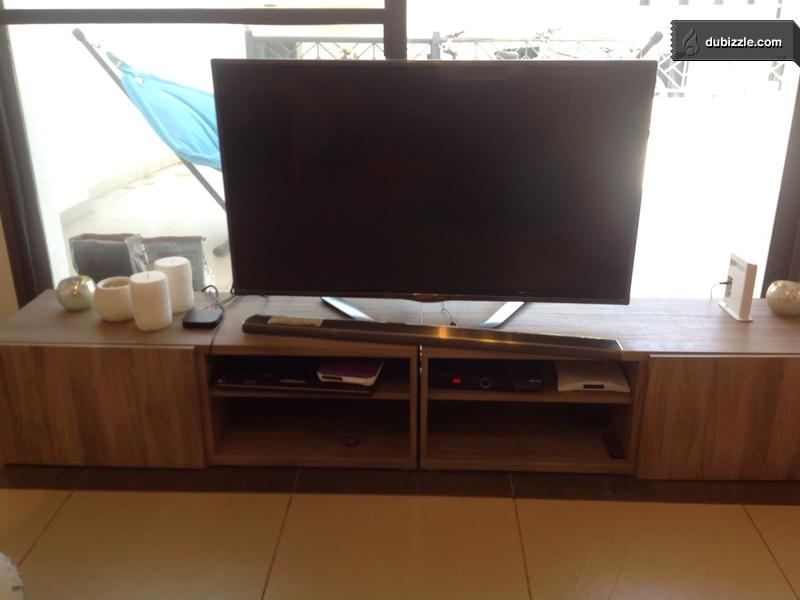 Ikea Television Stand Good Shape For Sale Olx Dubizzle Oman