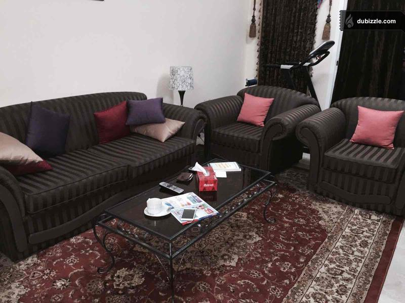 Sofa Set 3 Seater 2 Single Seater Olx Dubizzle Oman