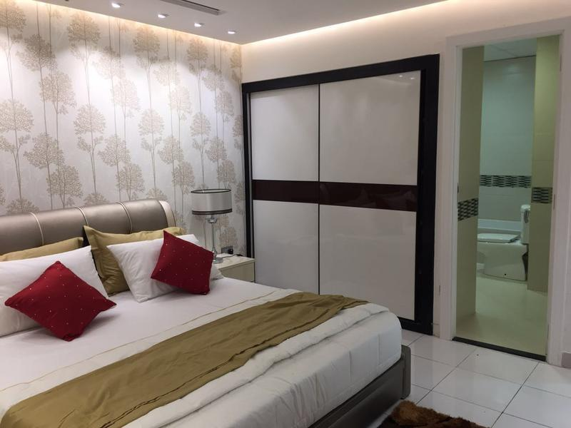 2BR with uniqu interior design , PAY 1%