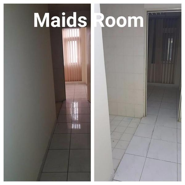 Apartment/Flat For Rent: NEWLY RENOVATED FLAT- MAIDS ROOM