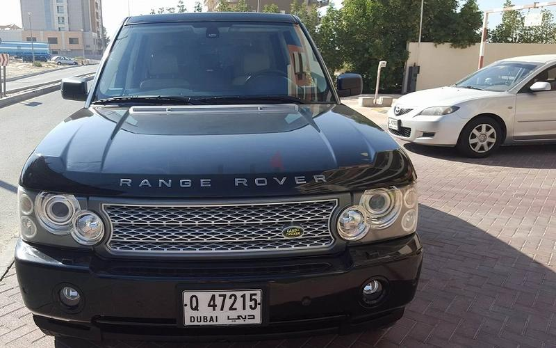 dubizzle dubai range rover very hot deal of 2006 r rover hse fully loaded. Black Bedroom Furniture Sets. Home Design Ideas