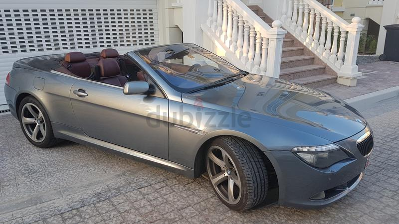 dubizzle dubai 6 series fully restored 2008 bmw 650i convertible for sale. Black Bedroom Furniture Sets. Home Design Ideas