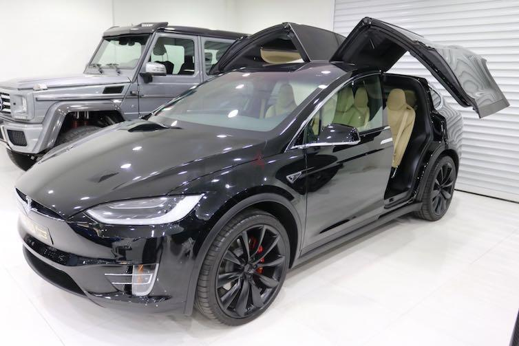 Dubizzle dubai model x tesla model x 2016 brand new for Electric motors for cars for sale
