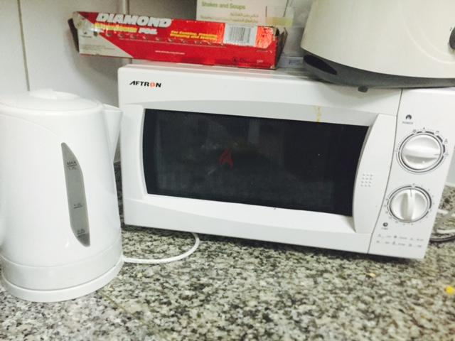 Countertop Oven Dubai : ... Dubai Kettles: Aftron Kettle for sale with Microwave and Toaster