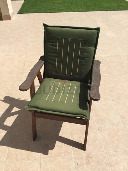 Dubizzle Dubai Garden Furniture 8 Wooden Garden Chairs