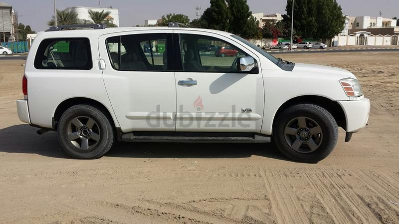 dubizzle dubai armada very nice condition nissan armada 2006 model gcc 4wd. Black Bedroom Furniture Sets. Home Design Ideas