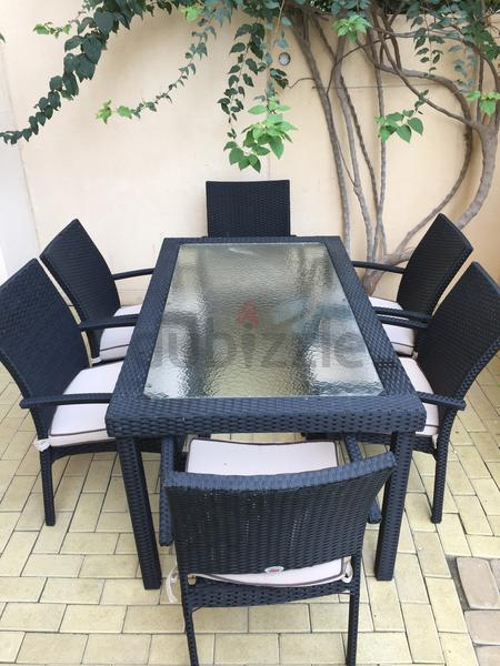 Dubizzle Dubai Garden Furniture Fiore Rosso Garden Table And Chairs
