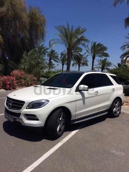 dubizzle dubai m class mercedes ml350 amg gargash