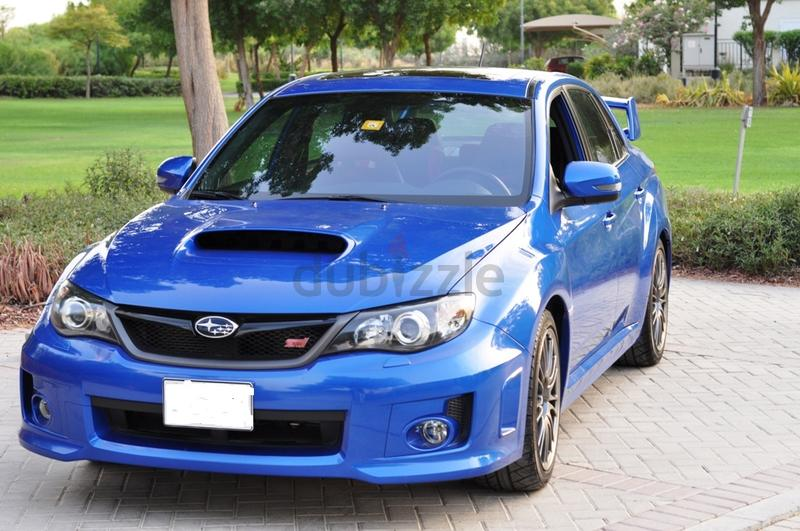 dubizzle dubai wrx y2014 subaru wrx sti manual with mods low kms immaculate. Black Bedroom Furniture Sets. Home Design Ideas