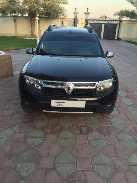 Duster: Renault Duster 2014 Model Black