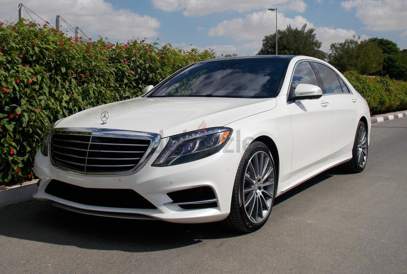 Dubizzle dubai s class 2016 mercedes benz s 550 amg for Used s550 mercedes benz