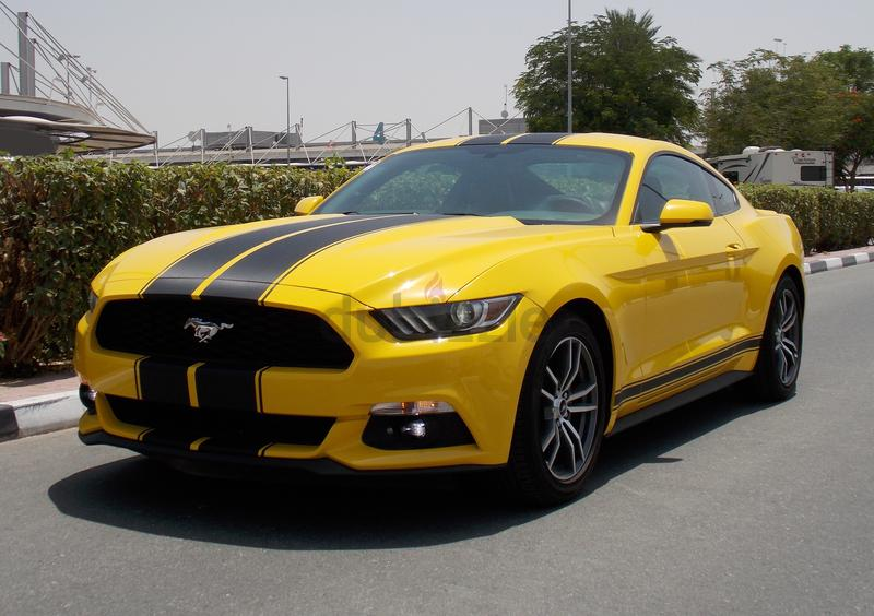 dubizzle dubai mustang 2016 ford mustang ecoboost premium 2 3l 310 hp at gulf. Black Bedroom Furniture Sets. Home Design Ideas