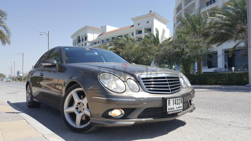 dubizzle dubai e class mercedes benz e350 2008 w211 with amg body kit for sale. Black Bedroom Furniture Sets. Home Design Ideas