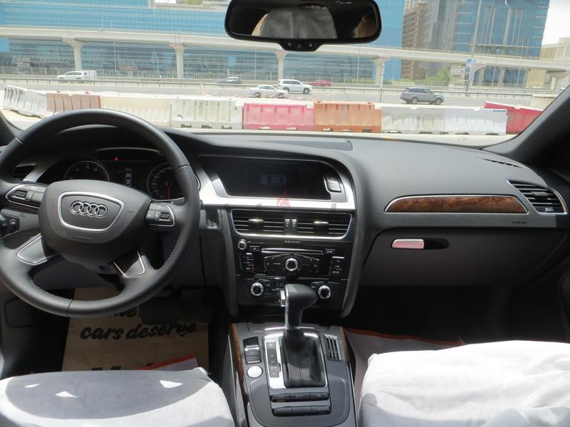 Dubizzle Dubai A4 Audi A4 Sline Grey With Brown Leather