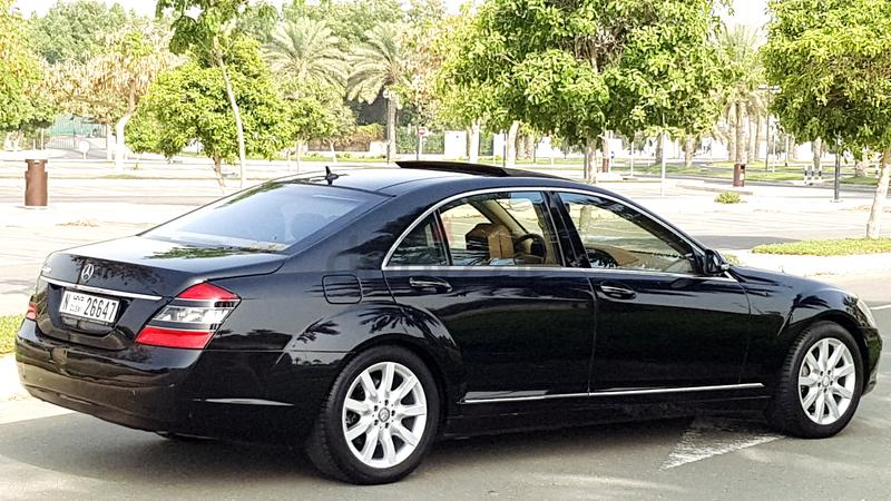 Dubizzle dubai s class mercedes benz s500 top of the for Mercedes benz c class service b