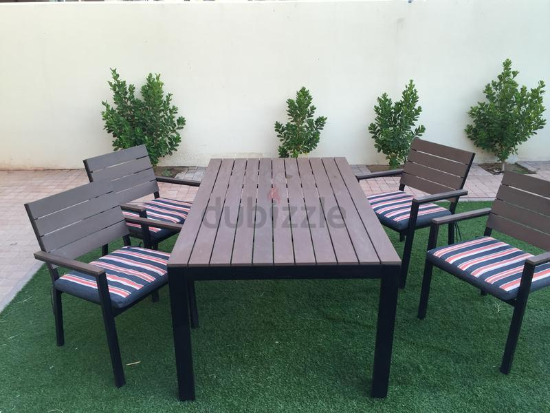 Dubizzle Dubai Garden Furniture Outdoor Dining Table And Chairs