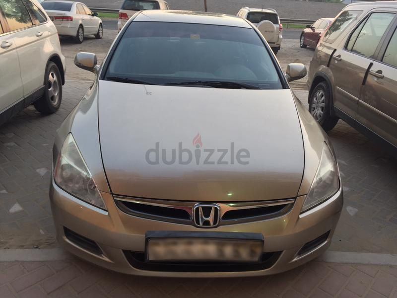 dubizzle dubai accord honda accord 2007 2 4l gold. Black Bedroom Furniture Sets. Home Design Ideas