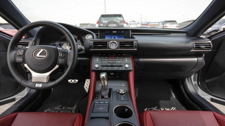 Dubizzle Dubai Rc Lexus Rc 350 Awd 2015 Red Interior