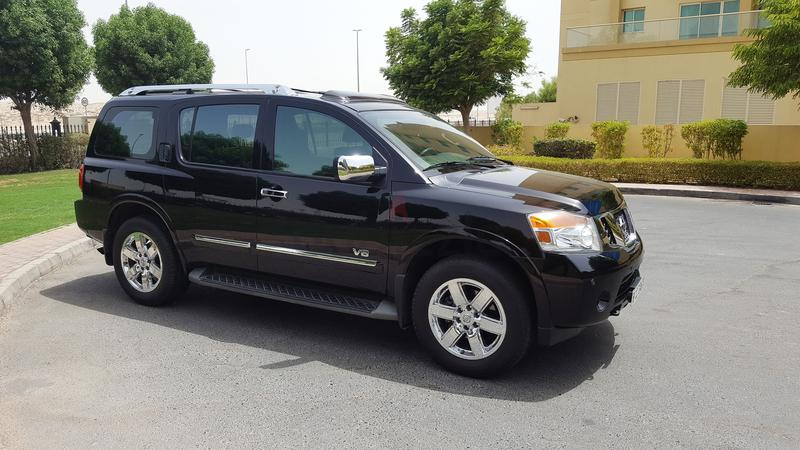 dubizzle dubai armada nissan armada le v8 gcc specs with warranty till 2019. Black Bedroom Furniture Sets. Home Design Ideas
