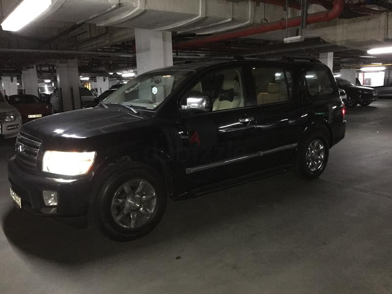 QX56: Infinity QX56 2005 Black (Sale or