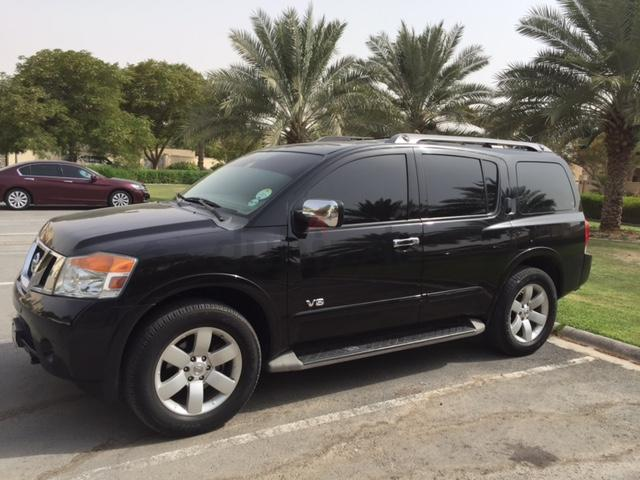 dubizzle dubai armada excellent condition gcc spec nissan armada le full option. Black Bedroom Furniture Sets. Home Design Ideas