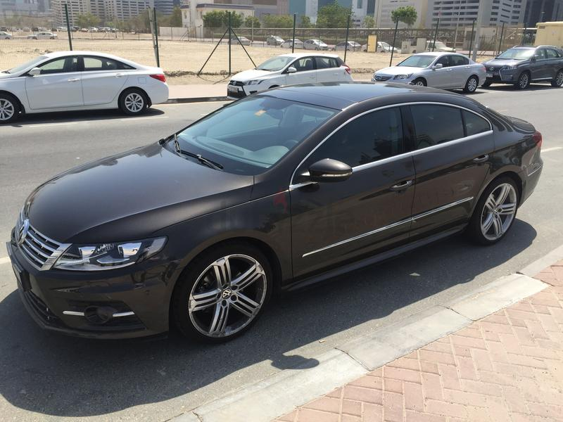 dubizzle dubai cc 2016 vw passat cc r line in excellent. Black Bedroom Furniture Sets. Home Design Ideas