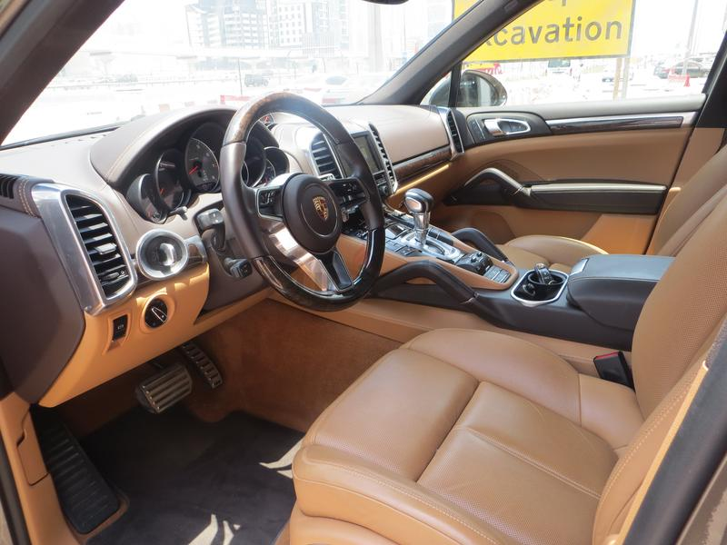 Dubizzle Dubai Cayenne Porsche Cayenne S Brown With