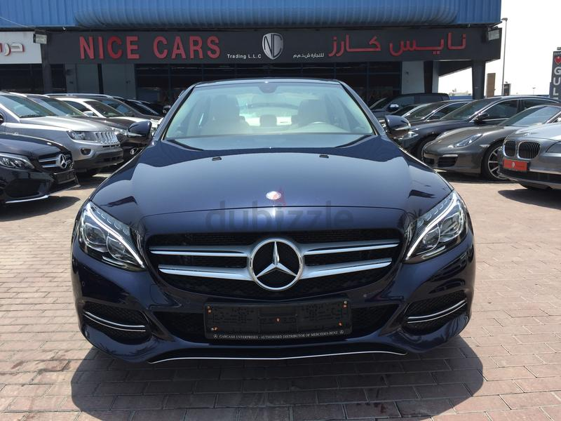 Dubizzle dubai c class mercedes c200 2015 gcc with for Mercedes benz service contract