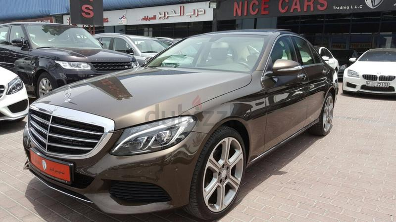 Dubizzle dubai c class mercedes c200 2015 gcc with for Mercedes benz c class service b