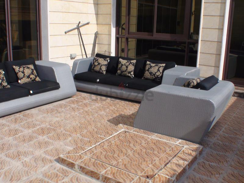 Dubizzle Abu Dhabi Garden Furniture Luxury Outdoor Sofa Set For Sale 3x2x1 Fully