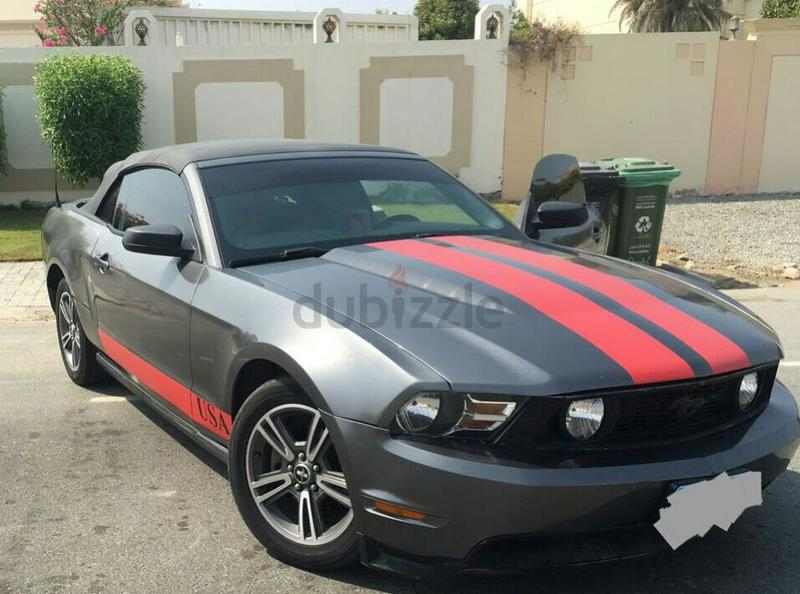 dubizzle dubai mustang ford mustang for sale 2010 convertible going cheap 24500. Black Bedroom Furniture Sets. Home Design Ideas