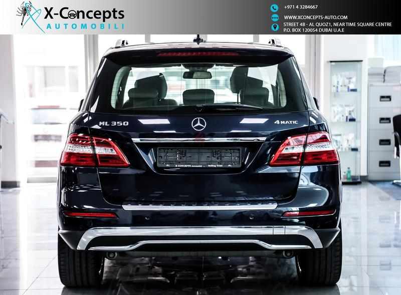 Dubizzle dubai m class mercedes benz ml350 2013 blue for Phone number for mercedes benz