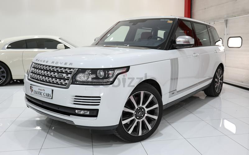Dubizzle Dubai Range Rover Warranty Until Aug 2021 Range Rover Vogue Se Supercharged Lwb