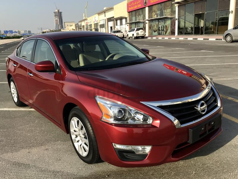 Dubizzle dubai altima nissan altima red 2014 gcc for Nissan motor phone number