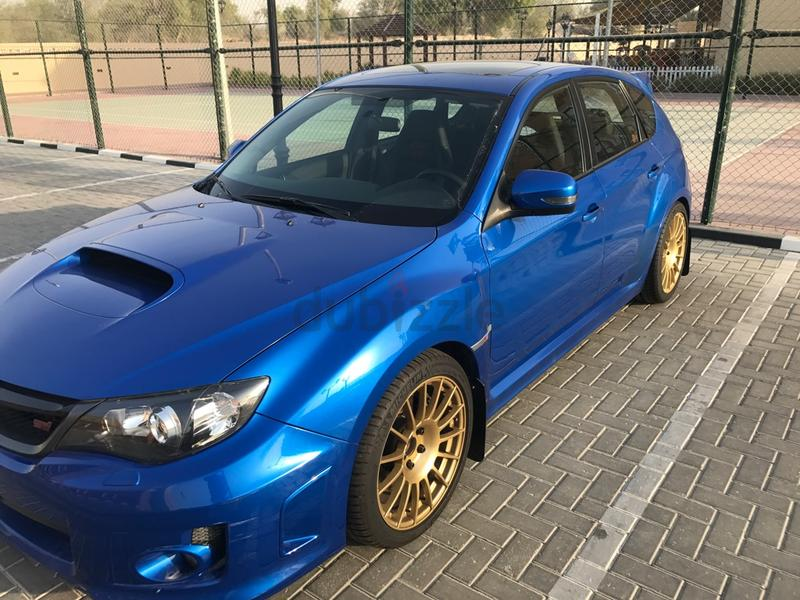 dubizzle dubai wrx subaru wrx sti hatchback 2012. Black Bedroom Furniture Sets. Home Design Ideas
