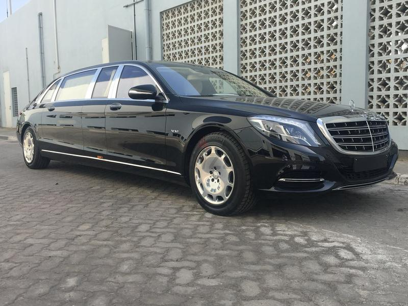 Dubizzle dubai s class mercedes maybach s600 pullman for Mercedes benz s guard for sale