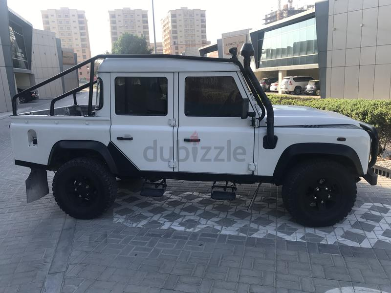 dubizzle dubai defender 2009 land rover defender 110 pickup low mileage. Black Bedroom Furniture Sets. Home Design Ideas