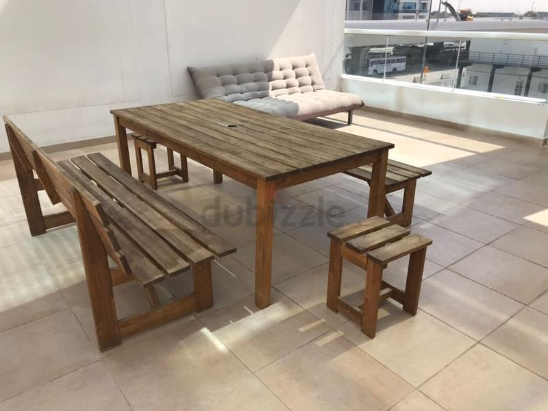 outdoor furniture from ikea aed 1000 - Garden Furniture Dubai