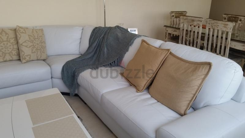Dubizzle Abu Dhabi Sofas Futons Lounges 5 Seater White L Shape Sofa For Sale