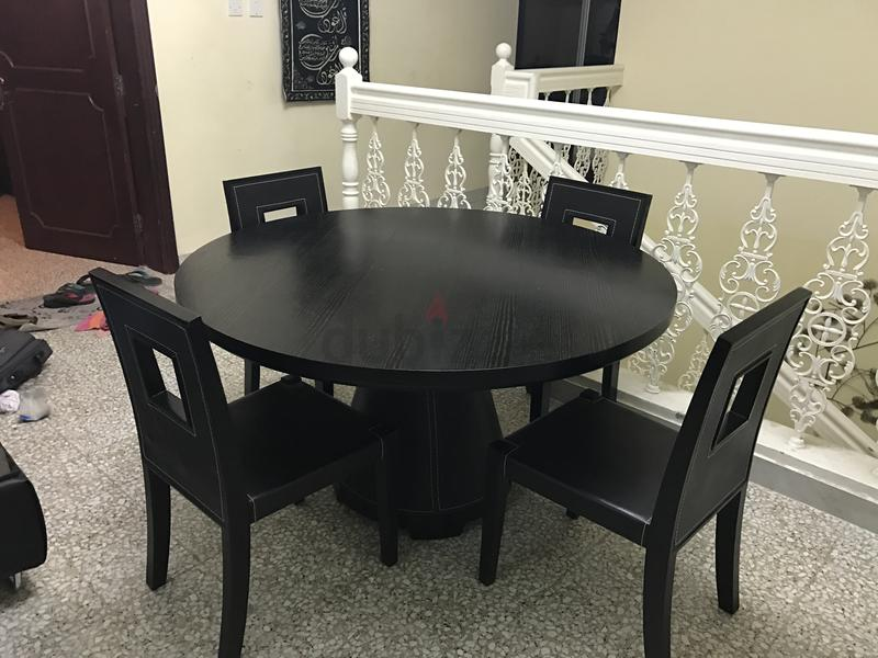 Dubizzle Dubai Dining Sets Pan Emirates Round Table 4 Chairs