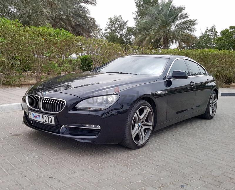 dubizzle Dubai  6Series VERIFIED CAR BMW 640i GRAN COUPE 2015