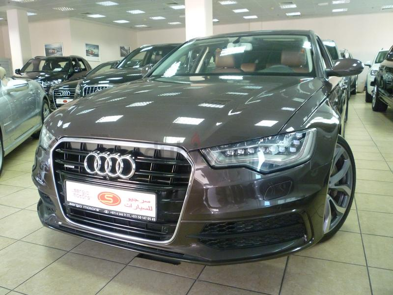 Audi A6 2014 found on KarSouq.com