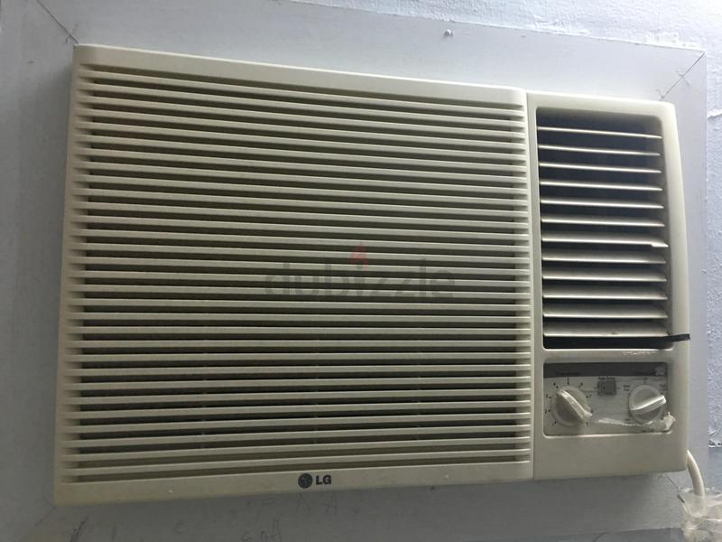 lg window ac for sale aed 800