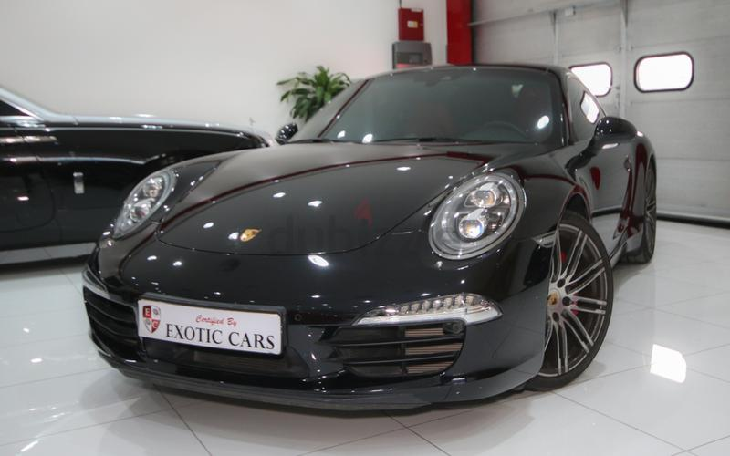 dubizzle dubai carrera 911 porsche 911 carrera s 2015 black red 13000 km warranty until feb 2018 - Porsche 911 2015 Black