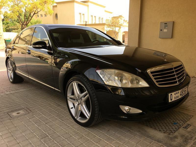 dubizzle dubai s class mercedes s350 2008 gcc agency maintained. Black Bedroom Furniture Sets. Home Design Ideas