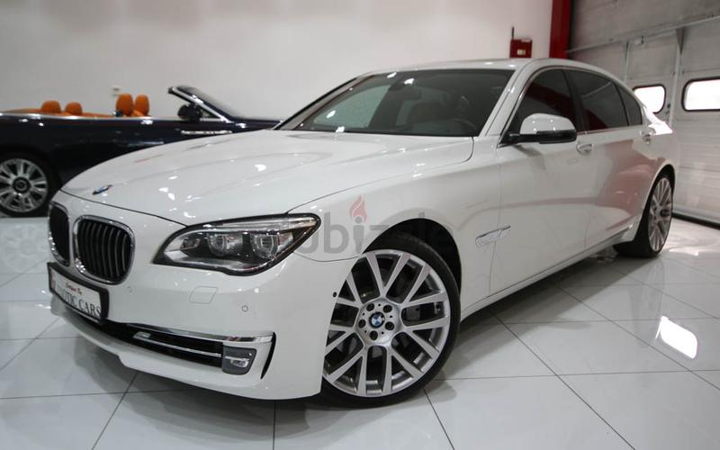 BMW 750 Li 2013 White Tan 93000 KM